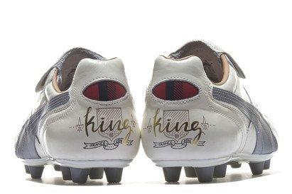 King Top City di Lyon FG - Crampons de Foot - Blanc/Argent white