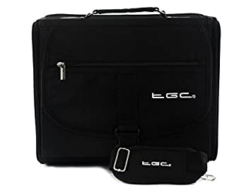 sony playstation 4 pro. sony playstation 4 pro deluxe console carry bag/case by the tgc ® (black