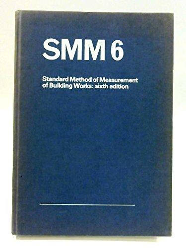 smm-6-standard-method-of-measurement-of-building-works