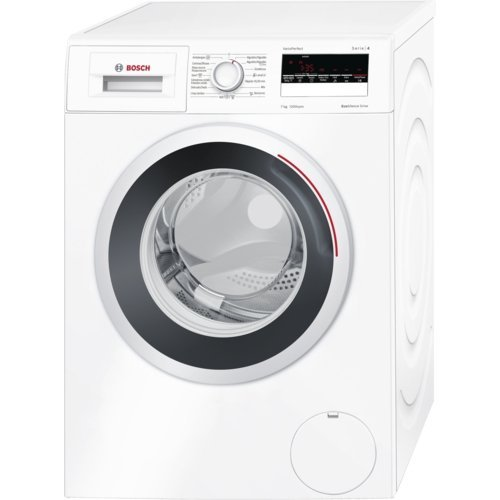 Bosch WAN24260ES Independiente Carga frontal 7kg 1200RPM A+++-10% Color blanco - Lavadora (Independiente, Carga frontal, Color blanco, LED, Izquierda, Acero inoxidable)