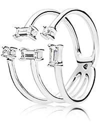 ee09d16a6 Pandora Women Silver Piercing Ring - 197527CZ-52