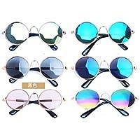Smirk Sumer Gafas de Sol para Mascotas de Verano, Gatos, Gafas de Sol para Perro, Gafas de Sol personales, Divertidas, Accesorios para Mascotas
