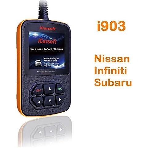 Ica Soft I903professionale dispositivo diagnostico per Nissan Infiniti Subaru OBD Canbus - Nuovo Nissan 350z