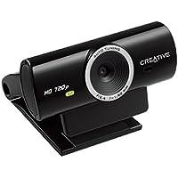Creative 73Vf077000001 - Webcam, cámara HD