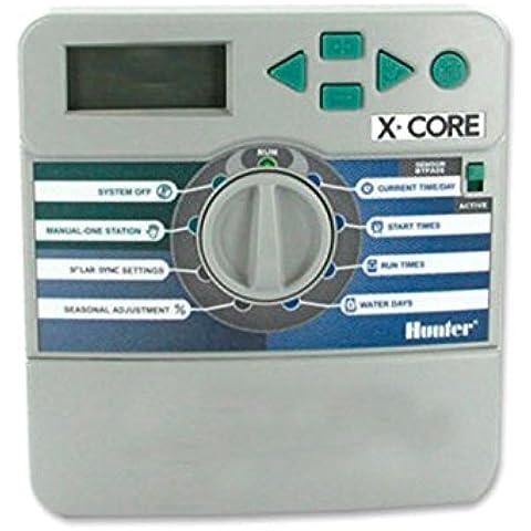 Jardin202 - Programador De Riego Hunter X-Core. Xc-601 X-E Exterior 6 Estaciones