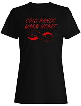 Manos frías cálido corazón camis