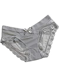 SamMoSon ❤❤❤Tangas para Mujer,Mujeres Carta Linda Bragas Tangas Ropa Interior Calzoncillos sin Costuras lencería