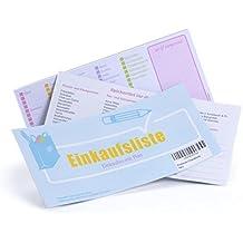 LIB di ELLE 4260343841166lista della spesa Spuntare–spesa Planer per alimentare come a liste
