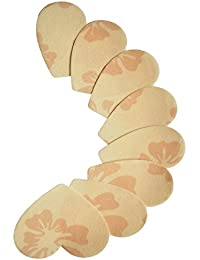 4 Paare Nippel Cover Brustwarzenabdeckung Herz PS 04 von Julimex