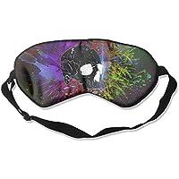 Artistic Skull Colorful Illustration Sleep Eyes Masks - Comfortable Sleeping Mask Eye Cover For Travelling Night... preisvergleich bei billige-tabletten.eu