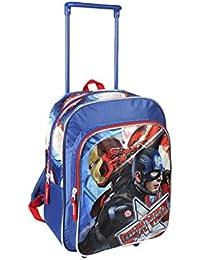 Preisvergleich für Cerdá Rucksack Trolley Festen 33cm Captain America Avengers bts16