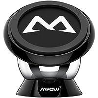 Soporte Magnético Universal con Ventosa para Salpicadero, Mpow Soporte para Teléfono / Iman Móvil Coche 360° Rotación Apoyo Pegar a Cualquier Superficie Limpiado para iPhoneX/8/7/ 6/ 6s 6 Plus, Google