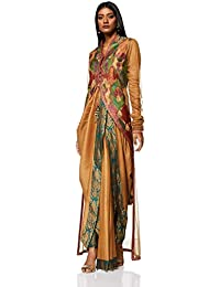 Ashima Leena Women's Jacket (AL-011_M_Multicolor_36)