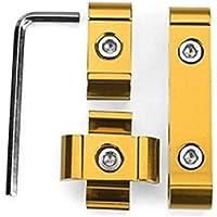 DAXINYANG Colorful Linght 12pcs Cable de la bujía de separación de 8 mm 9 mm 10 mm Motor Alambre Divisor de Aluminio (Color : B)