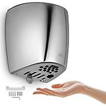 Cueffer Secador de Manos Secador de Manos Electrico Secador de Manos Automatico de Acero Inoxidable Secadora