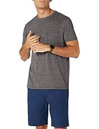 Tommy Jeans Herren Essential Pocket  Kurzarm  T-Shirt