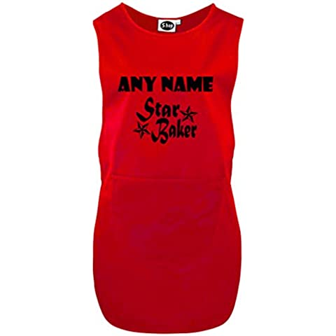 Personalizzata STAR BAKER Heavy cotton tabards aprons