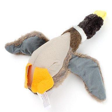 RayLineDo Hundespielzeug, quietschende Ente, zufällige Farbauswahl