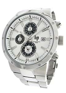 lip 10511322 montre homme acier quartz analogique chronographe dateur bracelet. Black Bedroom Furniture Sets. Home Design Ideas