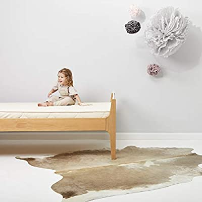 El Little Sheep orgánica verde impermeable Protector de colchón (Cuna Tamaño de la cama)