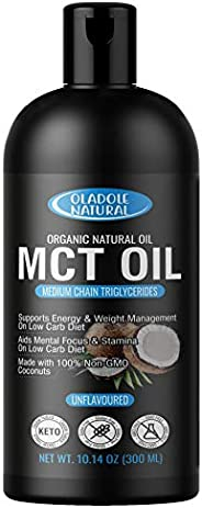 Oladole Natural Brain and Body Fuel Perfect Organic MCT Oil, 300 ml