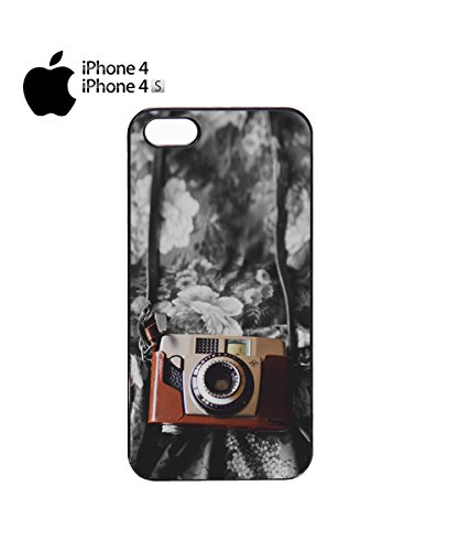 Retro Photo Camera Vintage Mobile Phone Case Cover iPhone 6 Plus + White Noir