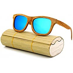 AOHANG Damen Sonnenbrille grau grau, blau, YJ30-3@#AO