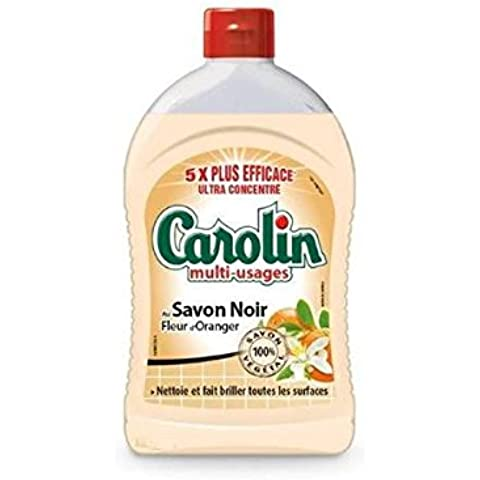Carolin Multi Usi al sapone nero 500ml spedizione veloce e pulita (prezzo per Unità)