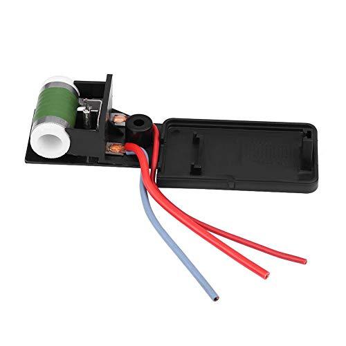 Résistance de ventilateur - Résistance de moteur de ventilateur pour Mini Cooper R50 R52 R53 03-08,17117541092R Radiateur de refroidissement de moteur de voiture.