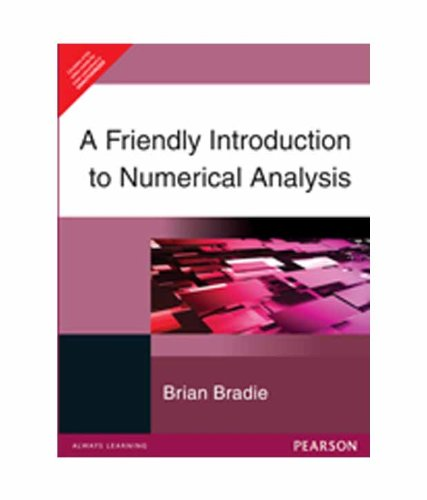 FRIENDLY INTRODUCTION TO NUMERICAL ANALYSIS