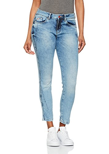 HIS Lorraine, Skinny Jeans Donna Blau (Premium Light Blue Wash 9153)