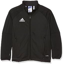 chaqueta adidas niño negra