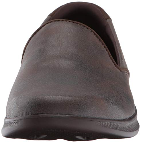 Skechers Performance Women's Go Step Lite-determined Walking Shoe, Chocolate, 11 M Us