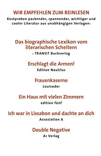 Wir empfehlen zum Reinlesen unsere Spitzentitel Herbst 2015: TRANSIT, EDITION NAUTILUS, LOUISODER, EDITION FÜNF, ASSOZIATION A, A1 VERLAG (Wir Fünf Cd)