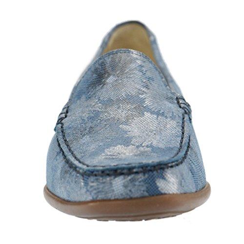 WALDLÄUFER HARRIET 431000168206 femmes Mocassins, Bleu - Bleu