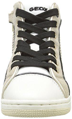 Geox Creamy E, Baskets Hautes Fille Or (C2005)