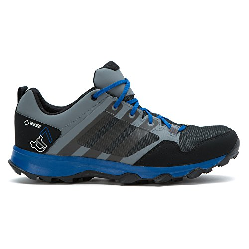 Adidas Outdoor Kanadia 7 Gtx Trail Running Shoe, Gris foncé / noir / blanc craie, 6 M Us Vista Grey/Black/Chalk White
