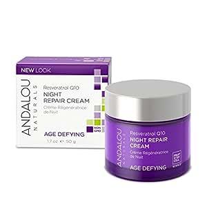 Andalou Naturals Crème régénératrice de nuit - A base de cellules souches de fruit - 50ml