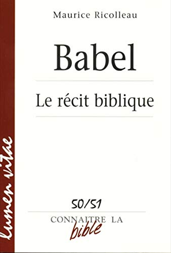 Babel - Le récit biblique