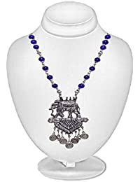 Aamoddhini Party Wear Western Fancy Designer Necklace Set For Women And Girls LN-28