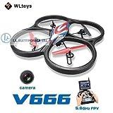 DRONE VLTOYS V666 CON MONITOR 6 ASSI E CAMERA HD + FPV 29072