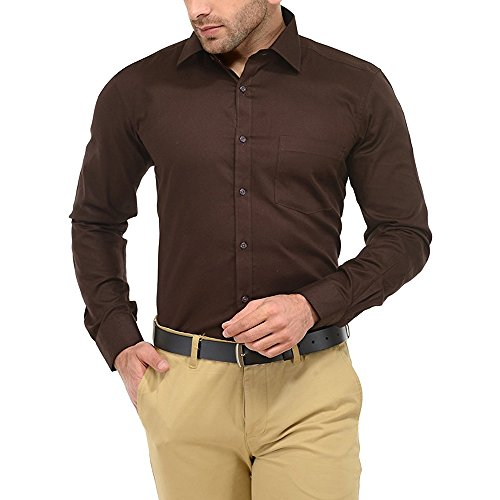 Jay & U Men's Cotton Formal Shirt (Available in various Colour Options)