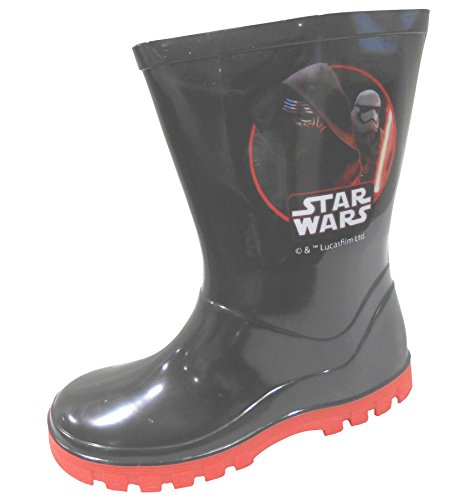 W Lamb Star Wars Kylo Ren Boys Wellington Boots Wellies