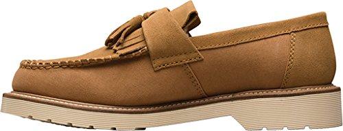 Dr.Martens Mens 3989 5-Eyelet Leather Shoes Chestnut