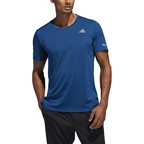 adidas Herren Run M T-Shirt, Legend Marine, S