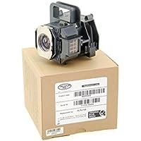Alda PQ® Original, Beamerlampe, Ersatzlampe für EPSON EH-TW2800, EH-TW2900, EH-TW3000, EH-TW3200, EH-TW3500, EH-TW3600, EH-TW3800, EH-TW4000, EH-TW4400, EH-TW4500, EH-TW5000, EH-TW5500, EH-TW5800, EH-TW8500, EMP-TW3800, EMP-TW5000, EMP-TW5500, H291A, H292A, H293A, H337A, H373B, H700, HOME CINEMA Serie: 6100, 6500UB, Home Cinema Serie: 9700UB, 6100, 6500UB, 8100, 8345, 8350, 8500UB, 8700UB PRO CINEMA Serie: 7100, 7500UB, 9100, 9350, 9500UB Projektoren, Alda PQ® Lampe im PRO-G6s Gehäuse, Halterung