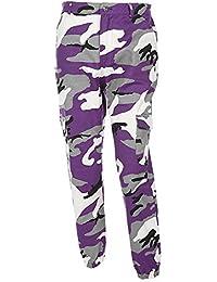36de1ab9aa8a Frauen Camouflage Hose - Jogger Dance Pant, Militärhose Hip Hop Jogger  Dance Pant