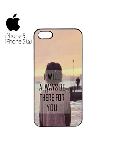 I Will Always Be There For You Romantic Cute Valentine Mobile Phone Case Cover iPhone 6 Plus + White Blanc