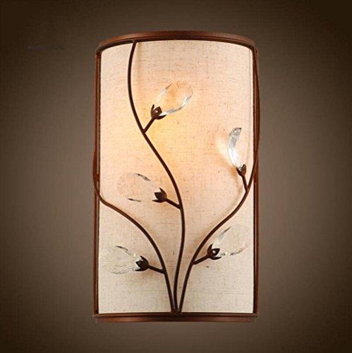 ZT Appliques cristal La créativité LED Éclairage abat-jour Intérieur Fixation Décoration Chevet Chambre escaliers restaurant