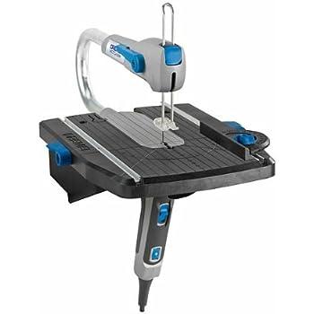 DREMEL Scie à Chantourner Compacte Moto-Saw MS20-1/5 2-en-1 (70W), 1 Adaptation, 5 Accessoires